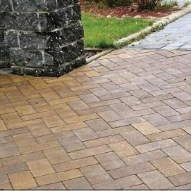 Тротуарна плитка Золотий Мандарин Цегла без фаски 200х100х60 мм генуя