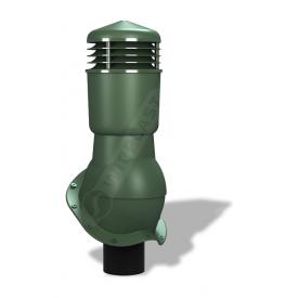 Вентиляционный выход Wirplast Perfekta К49 110x500 мм зеленый RAL 6020