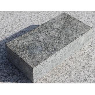 Тротуарна плитка з лабрадориту 20х10х3-5 см серая