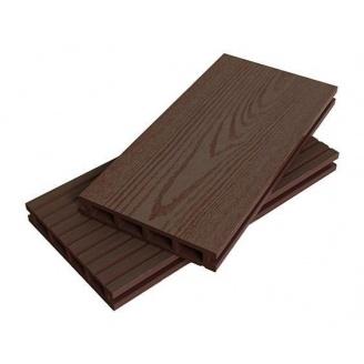 Террасная доска Zagu Classic 150x25x2200 мм коричневая патина