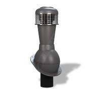 Вентиляційний вихід Wirplast Normal К43 110x500 мм графітовий RAL 7024