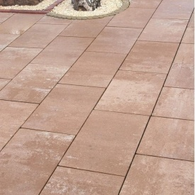 Тротуарна плитка Золотий Мандарин Моноліт 600х400х80 мм тренто