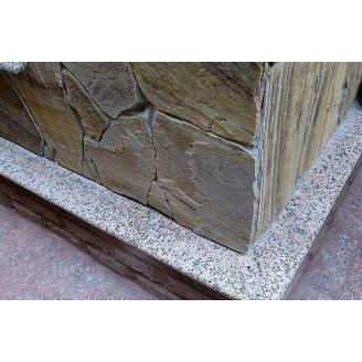 Гранитный отлив Покостовка 150х20 мм серый