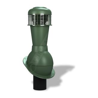 Вентиляційний вихід Wirplast Normal К43 110x500 мм зелений RAL 6020