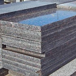 Гранитная плита 3 см серая