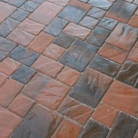 Тротуарна плитка Золотий Мандарин Венеція 60 мм латина
