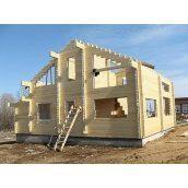Будівництво дерев'яного будинку з євробрусу