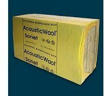 Акустична вата AcousticWool Sonet 48 кг/м3 6 м2/упаковка
