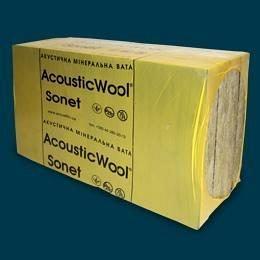 Акустическая вата AcousticWool Sonet 48 кг/м3 6 м2/упаковка