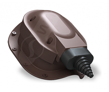 Проходной элемент Wirplast Perfekta S48 коричневый RAL 8019