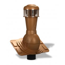 Вентиляционный выход Wirplast Uniwersal К44 110x500 мм медный RAL 8003