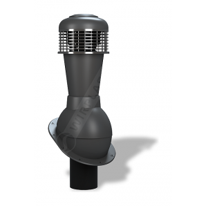 Вентиляційний вихід Wirplast Normal К43 110x500 мм антрацитовий RAL 7021