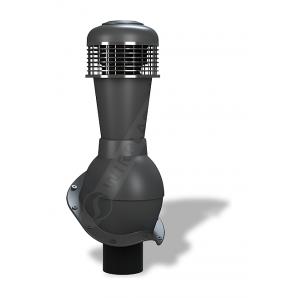 Вентиляционный выход Wirplast Perfekta К50 110x500 мм антрацитовый RAL 7021