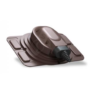 Прохідний елемент Wirplast Uniwersal S25 коричневий RAL 8017