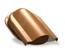 Вентилятор подкровельного пространства Wirplast Easy P19 310x237 мм медный RAL 8003