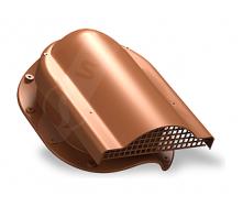 Вентилятор підпокрівельного простору Wirplast Rolling P51 310x237 мм цегляний RAL 8004