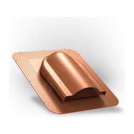 Вентилятор подкровельного пространства Wirplast Simple P17 468x390 мм кирпичный RAL 8004