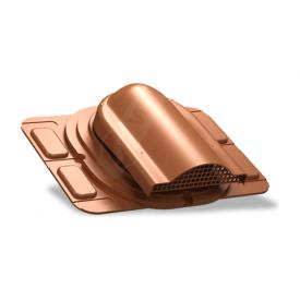 Вентилятор подкровельного пространства Wirplast Optimum P20 285x210 мм кирпичный RAL 8004