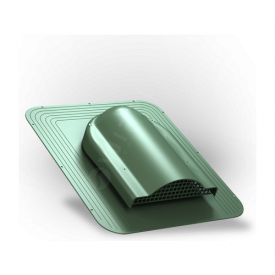 Вентилятор подкровельного пространства Wirplast Simple P17 468x390 мм зеленый RAL 6020
