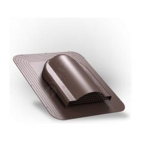 Вентилятор подкровельного пространства Wirplast Simple P17 468x390 мм коричневый RAL 8017