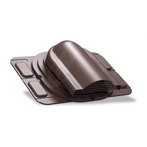 Вентилятор подкровельного пространства Wirplast Optimum P20 285x210 мм коричневый RAL 8017