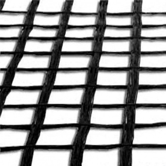Синтетическая геосетка Tegola X Grid PET-PVC 60/60 3,9х100 м