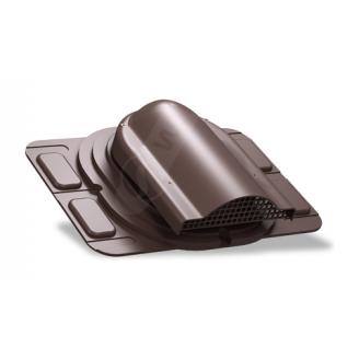 Вентилятор підпокрівельного простору Wirplast Optimum P20 285x210 мм коричневий RAL 8017