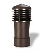 Колпак для вентиляционного выхода Wirplast Alfawent К14-2 150x410 мм коричневый RAL 8017