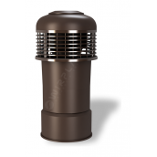 Колпак для вентиляционного выхода Wirplast Alfawent Plus К45-2 150x398 мм коричневый RAL 8017