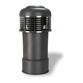 Колпак для вентиляционного выхода Wirplast Alfawent Plus К45-3 150x398 мм графитовый RAL 7024