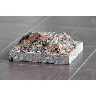 Облицовочная плитка СКАЛА из натурального гранита 20х40х6 см