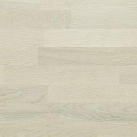 Паркетна дошка BEFAG трьохсмугова Дуб Robust Морська сіль 2200x192x14 мм вибілений браш лак