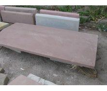 Крышка на забор 1000х250х50 мм  коричневое