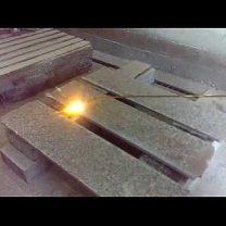 Как примерно происходит термообработка гранита