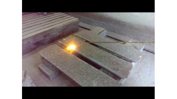Як приблизно відбувається термообробка граніту