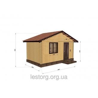 Строительство дома из профилированного бруса 3х5 м