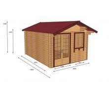 Строительство дома из профилированного бруса 3х4 м