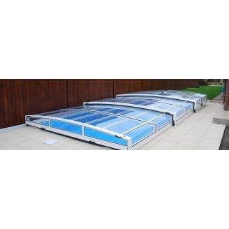 Монтаж павильона для бассейна