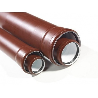Труба канализационная бесшумная PipeLife MASTER-3 110х3 мм 0,5 м