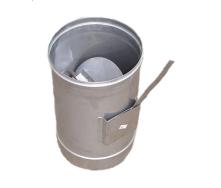 Регулятор тяги димаря 120 мм 0,5 мм