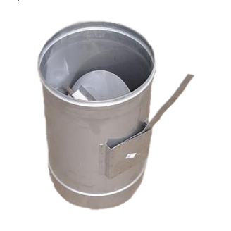 Регулятор тяги дымохода 200 мм 1 мм