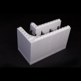 Термоблок TMD угловой 660/360x400x270 мм с пластиковой перемычкой