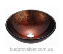 Медно-золотистая стеклянная раковина GV-683-12mm