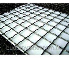 Сетка рифленая канилированная 40х40 мм