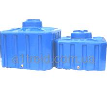 Емкость квадратная 200 литров 70х70х56 2-слойная