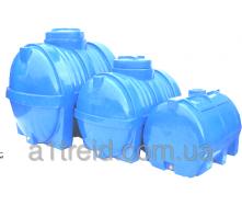Емкость горизонтальная 1500 литров 155х111х120 2-слойная
