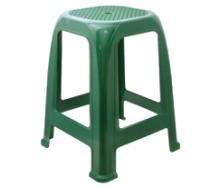Табурет Пиф пластиковый зеленый