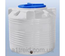 Емкость 200 литров вертикальная однослойная