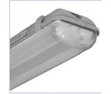 Светильник влагозащищенный 1*18 с электронным пускателем