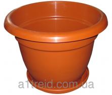 Вазон напольный 40 литров горшок Радуга